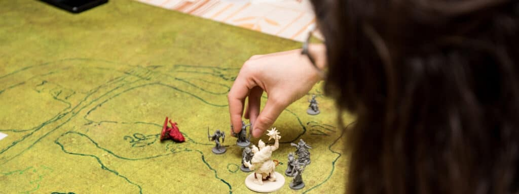 Kid Playing A Game Of DnD
