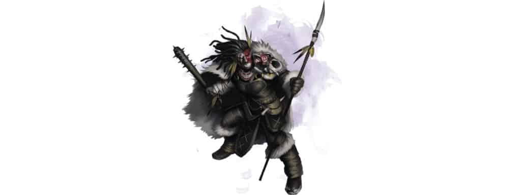 Totem Warrior 5e With Spear in Hand
