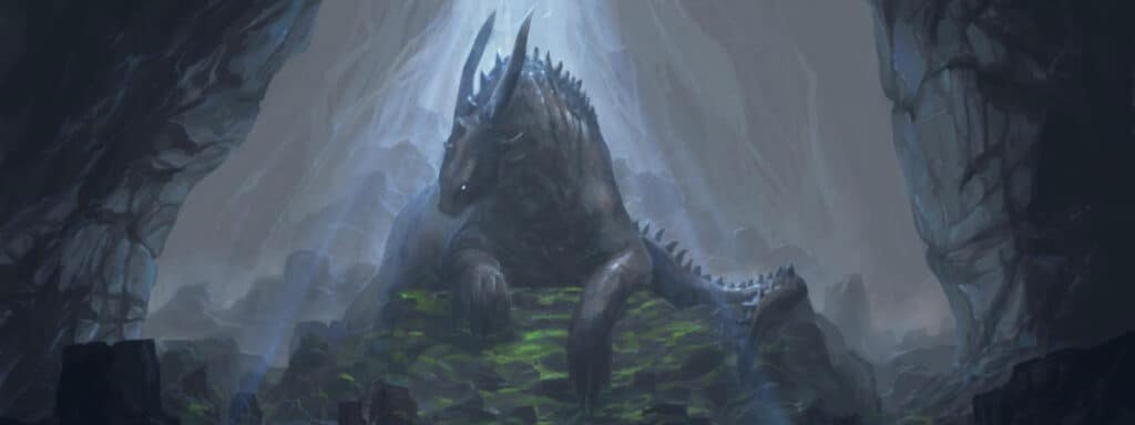 Dragon in Cave - 5e Legendary and Lair Actions