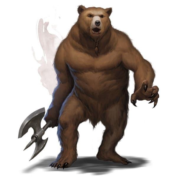 Image of 5e Werebear