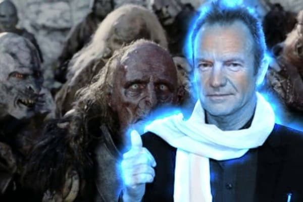 Sting Glowing By Orcs