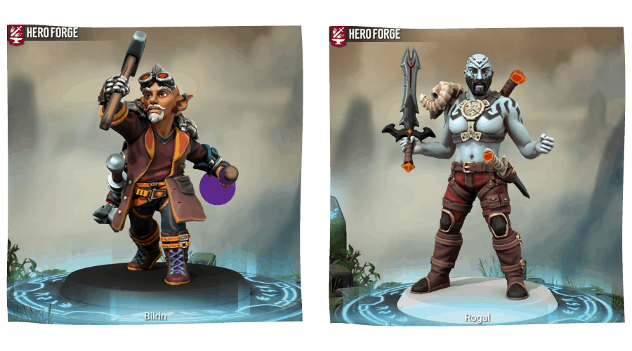 Hero Forge Examples