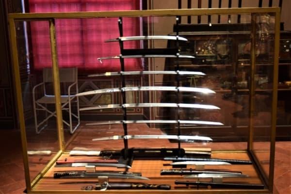 Case of Samurai Swords