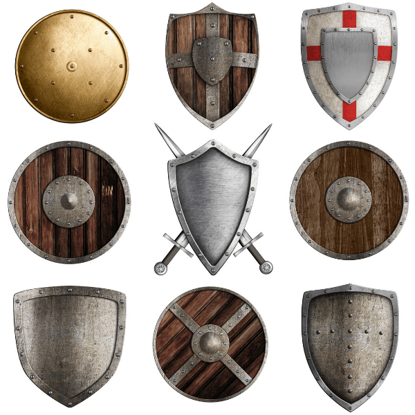 9 Different Shield Types