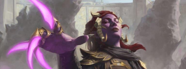 Azra - Creating a Tiefling Druid
